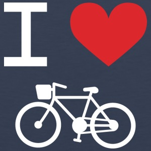 I love Bicycling - Men's Premium Tank