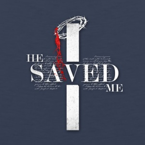 He Saved Me - Men's Premium Tank