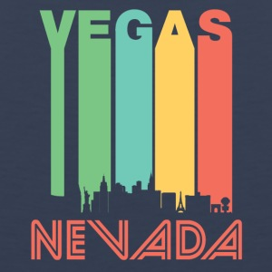 Retro Vegas Skyline - Men's Premium Tank