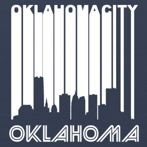 Retro Oklahoma City Skyline - Men's Premium Tank