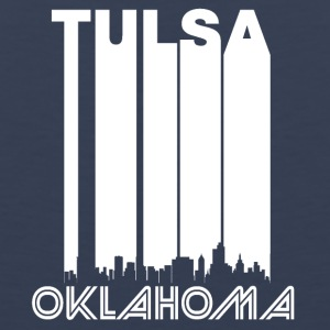 Retro Tulsa Skyline - Men's Premium Tank