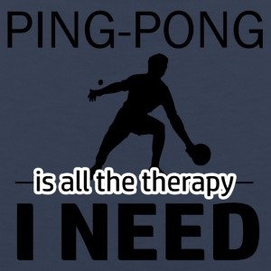 Ping Pong is my therapy - Men's Premium Tank