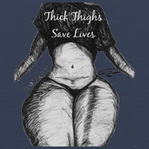 Thick Thighs Save Lives - Men's Premium Tank