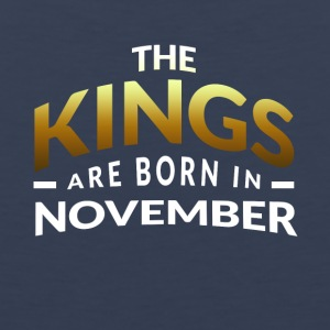 Kings are born in November - Men's Premium Tank