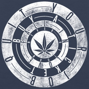 quit your job white - Men's Premium Tank
