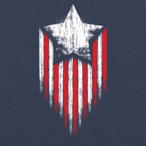 Star Stripes american dream freedom and wisdom - Men's Premium Tank
