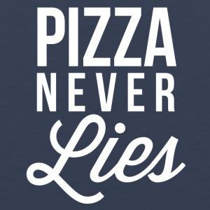 Pizza never Lies - Men's Premium Tank