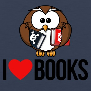 I LOVE BOOKS - Men's Premium Tank