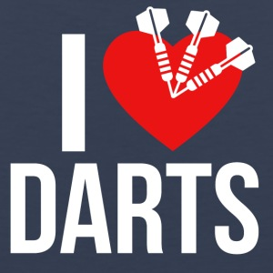 I LOVE DARTS - Men's Premium Tank