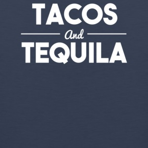 Tacos and tequila - Men's Premium Tank
