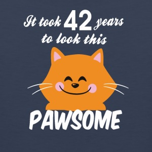 It took 42 years to look this pawsome - Men's Premium Tank