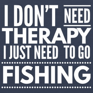 Fishing Therapy - Men's Premium Tank