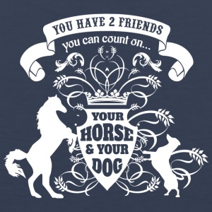 Horse Dog Friends Love - Men's Premium Tank