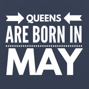 Queens Born May - Men's Premium Tank