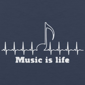 Music is my life - Men's Premium Tank