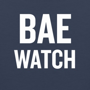 Bae Watch White - Men's Premium Tank