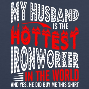 My Husband Is The Hottest Ironworker - Men's Premium Tank