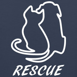 Rescue white - Men's Premium Tank