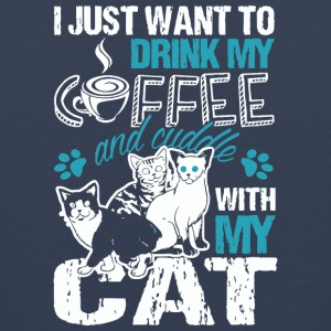 Coffee Cat Love Gift - Men's Premium Tank