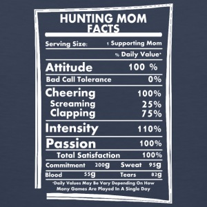 Hunting Mom Facts Daily Values May Be Vary - Men's Premium Tank