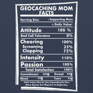 Geocaching Mom Facts Daily Values May Be Vary - Men's Premium Tank