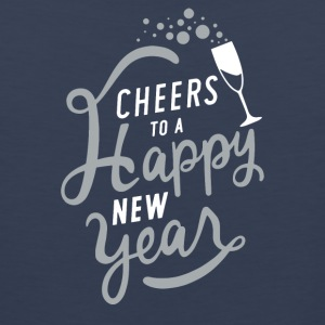 Cheers To A Happy New Year - Men's Premium Tank