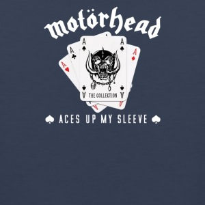 Motor head Aces Up Lemmy Kilmister Heavy Metal - Men's Premium Tank