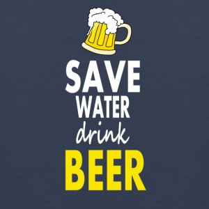 Save water drink beer - Men's Premium Tank