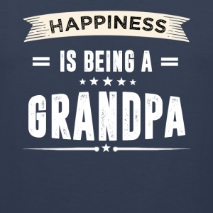 Happiness Is Being a GRANDPA - Men's Premium Tank