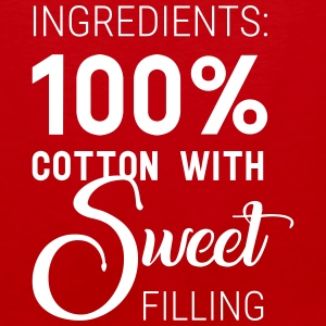 100% Sweet - confident wear for ladies - Men's Premium Tank