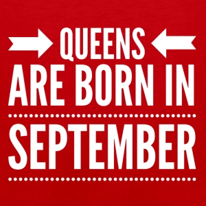 Queens Born September - Men's Premium Tank