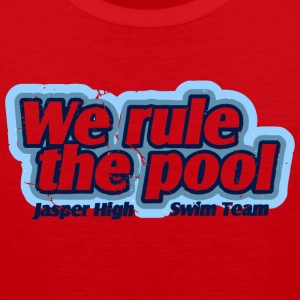 We Rule The Pool Jasper High Swim Team - Men's Premium Tank