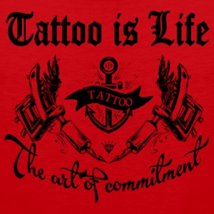 Tattoo is life - Men's Premium Tank