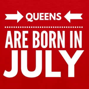 Queens Born July - Men's Premium Tank