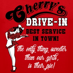 Cherry's Drive In Humor Adult Tee - Men's Premium Tank