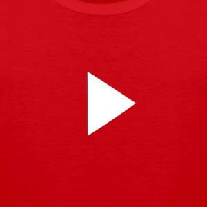 Youtube Play button - Men's Premium Tank