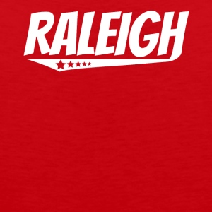 Raleigh Retro Comic Book Style Logo - Men's Premium Tank