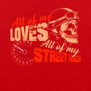 All Of Me Loves My Street Racer Tee - Men's Premium Tank