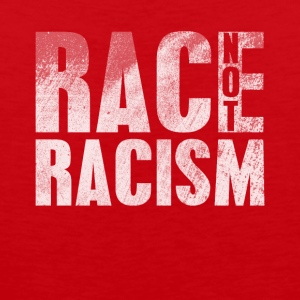 Race Not Racism - Men's Premium Tank