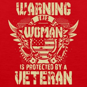 Veteran's Daughter Shirt - Men's Premium Tank