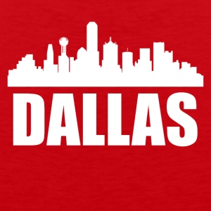 Dallas TX Skyline - Men's Premium Tank
