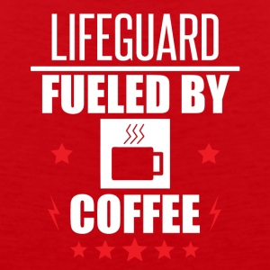 Lifeguard Fueled By Coffee - Men's Premium Tank