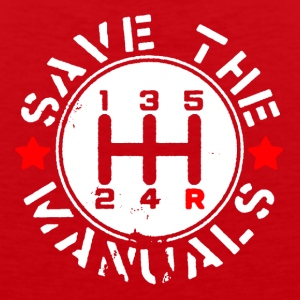 SAVE THE MANUALS - Men's Premium Tank
