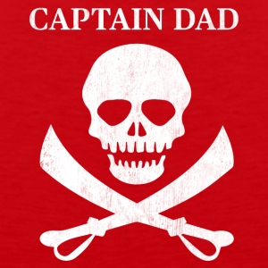 Funny Captain Dad Pirate Lover Fun Halloween - Men's Premium Tank