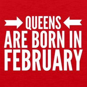 Queens Born February - Men's Premium Tank