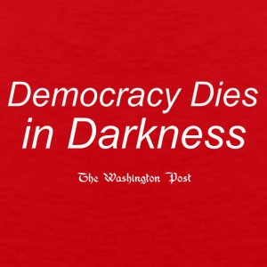 Democracy Dies White - Men's Premium Tank