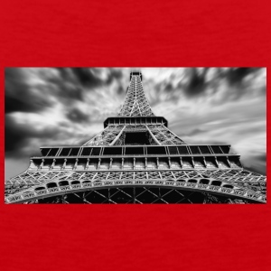 eiffel tower - Men's Premium Tank