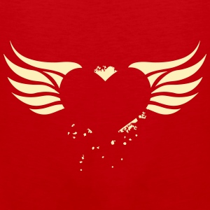 Heart with Wings - Men's Premium Tank