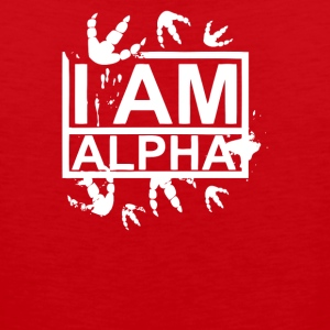 I am Alpha Quote - Men's Premium Tank