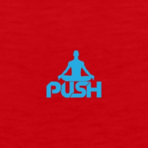 Red Push T-shirt - Men's Premium Tank
